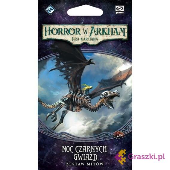 Horror w Arkham: Gra karciana - Noc czarnych gwiazd | Galakta